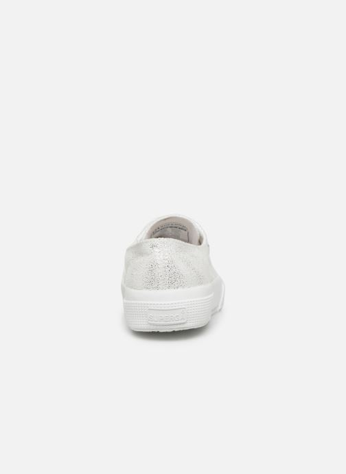 Sneakers Superga 2750 Jersey Frost Lame W Zilver rechts