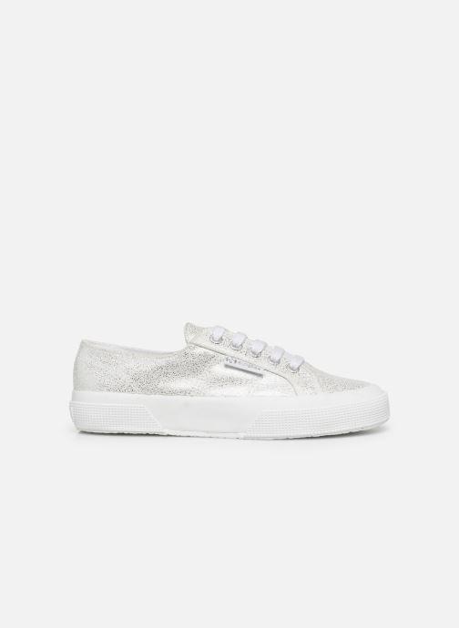 Sneakers Superga 2750 Jersey Frost Lame W Zilver achterkant