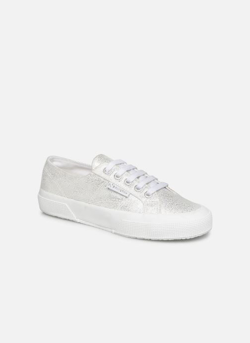 Sneakers Superga 2750 Jersey Frost Lame W Zilver detail