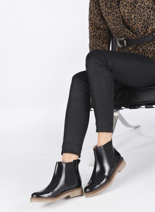 Stiefeletten & Boots Kickers OXFORDCHIC 82 schwarz ansicht von unten / tasche getragen