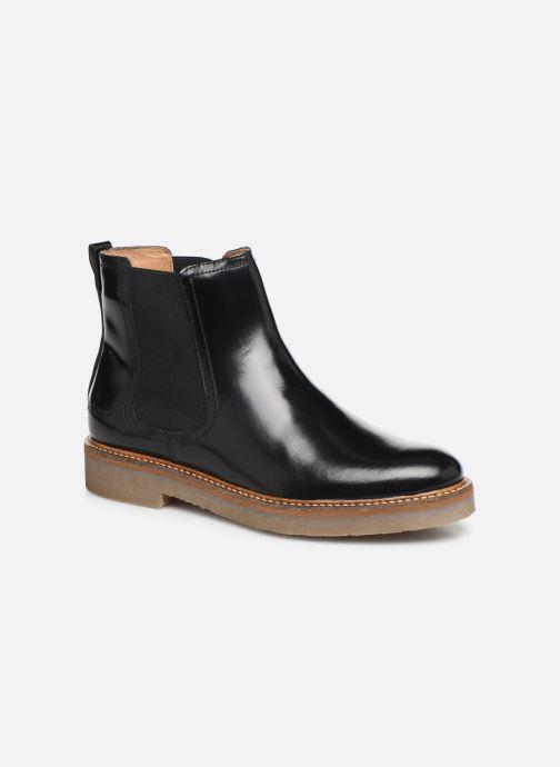 Bottines et boots Kickers OXFORDCHIC 82 Noir vue détail/paire