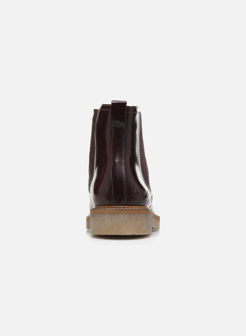 Bottines et boots Kickers OXFORDCHIC 18 Bordeaux vue droite