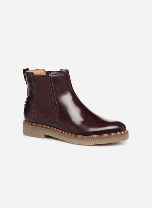 Bottines et boots Kickers OXFORDCHIC 18 Bordeaux vue détail/paire