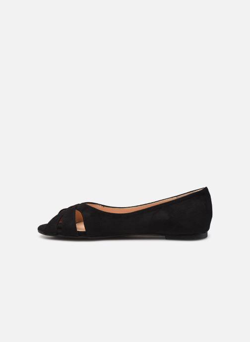 Ballerines I Love Shoes CARRENITA Noir vue face