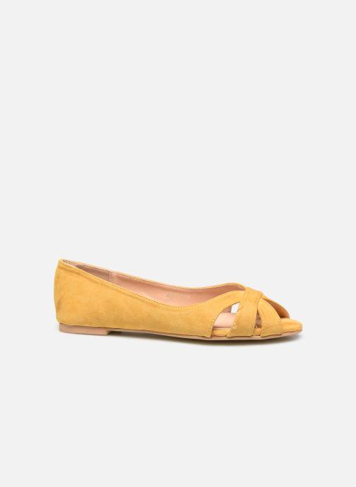 Bailarinas I Love Shoes CARRENITA Amarillo vistra trasera