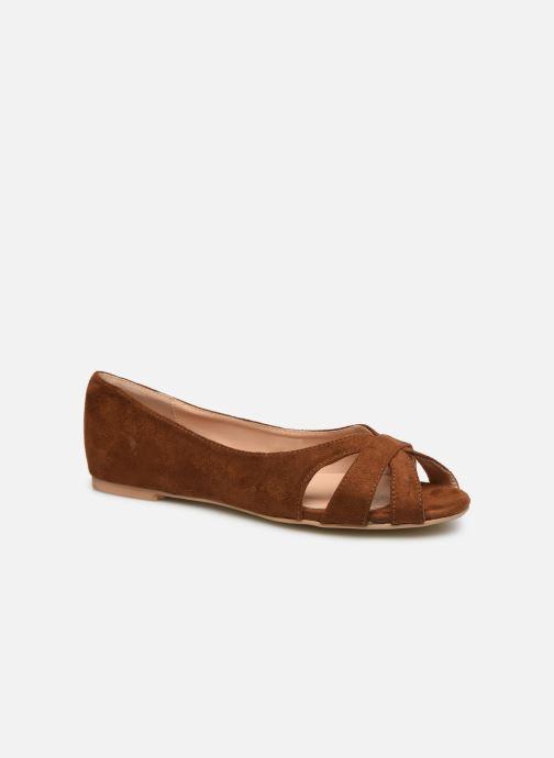 Ballerines I Love Shoes CARRENITA Marron vue détail/paire