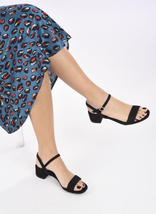 Sandalias I Love Shoes CANANI Negro vista de abajo