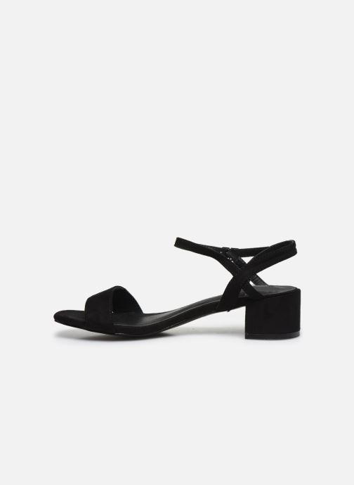 Sandales et nu-pieds I Love Shoes CANANI Noir vue face