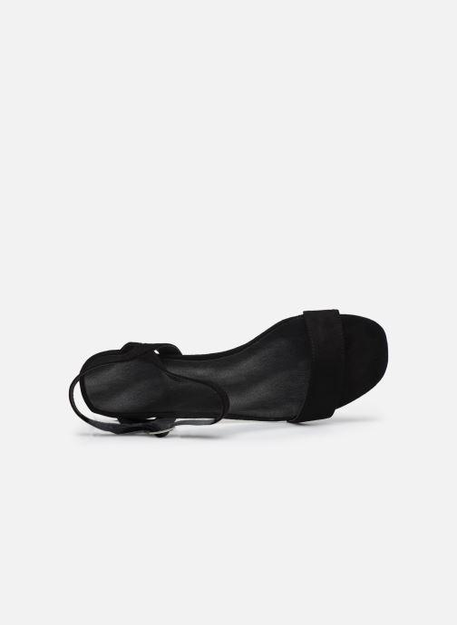Sandales et nu-pieds I Love Shoes CANANI Noir vue gauche