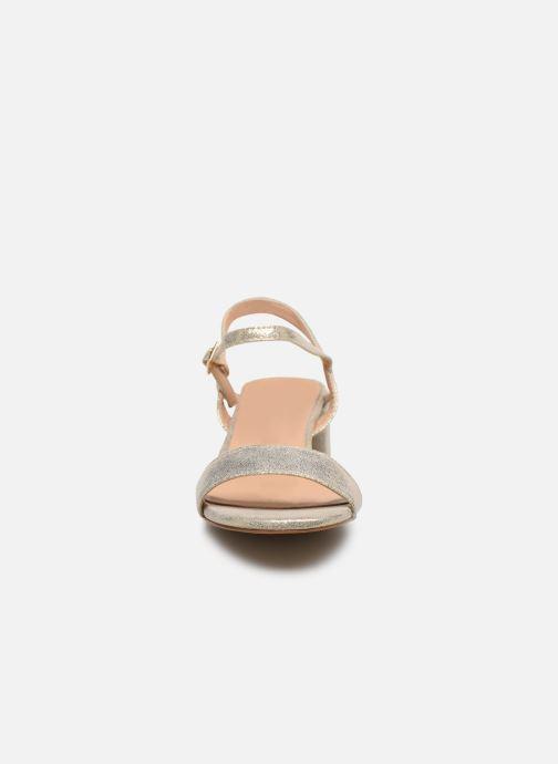 Sandalias I Love Shoes CANANI Oro y bronce vista del modelo