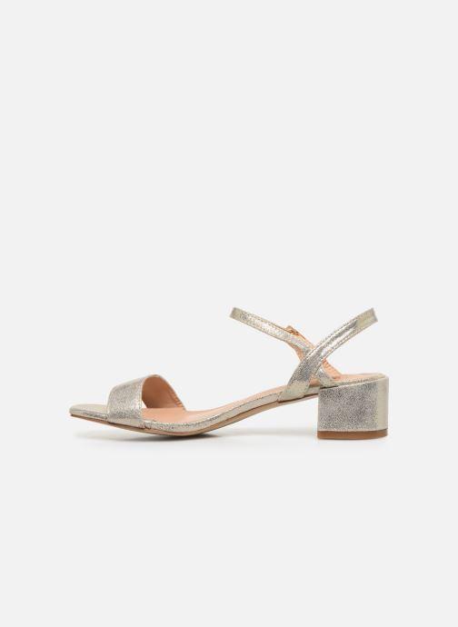 Sandalias I Love Shoes CANANI Oro y bronce vista de frente