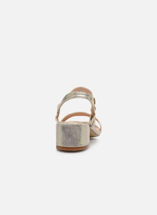 Sandalias I Love Shoes CANANI Oro y bronce vista lateral derecha