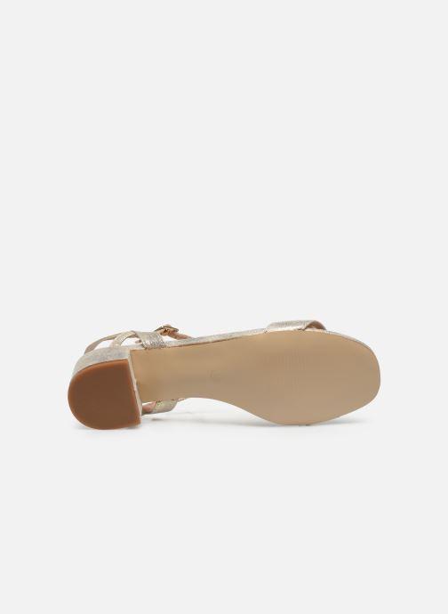 Sandalias I Love Shoes CANANI Oro y bronce vista de arriba