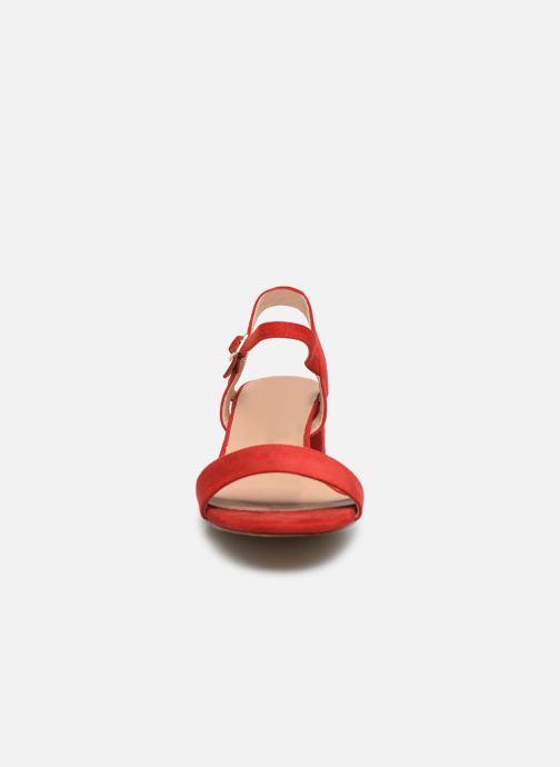 Sandales et nu-pieds I Love Shoes CANANI Rouge vue portées chaussures