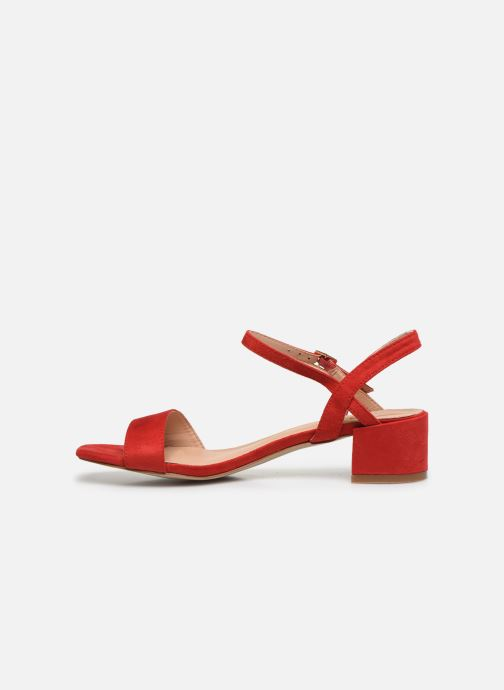 Sandales et nu-pieds I Love Shoes CANANI Rouge vue face