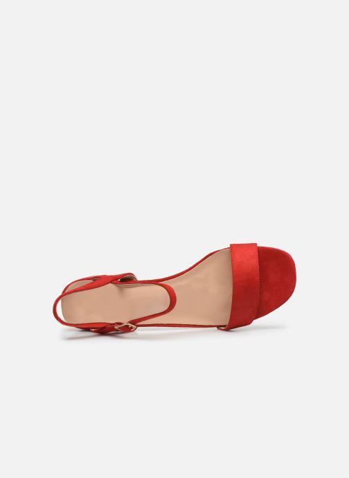 Sandales et nu-pieds I Love Shoes CANANI Rouge vue gauche