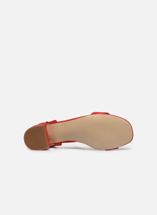 Sandales et nu-pieds I Love Shoes CANANI Rouge vue haut
