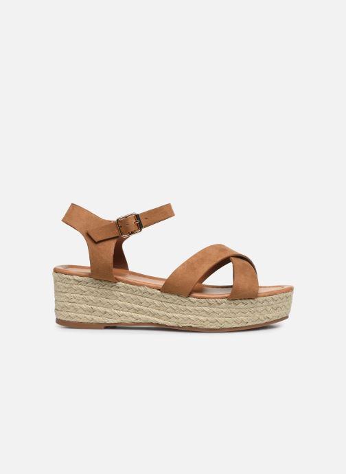 Alpargatas I Love Shoes CAROISA Marrón vistra trasera