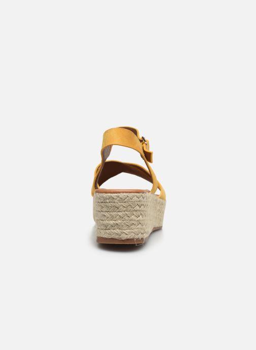 Espadrilles I Love Shoes CAROISA Jaune vue droite
