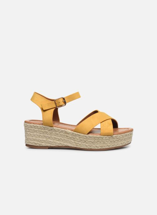Espadrilles I Love Shoes CAROISA Jaune vue derrière