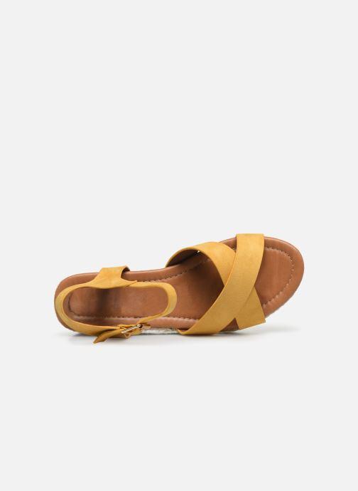 Espadrilles I Love Shoes CAROISA Jaune vue gauche