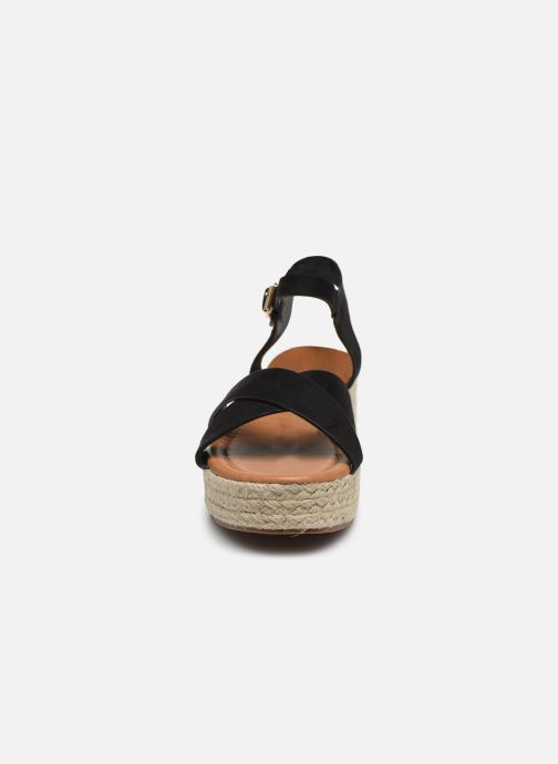 Espadrilles I Love Shoes CAROISA Noir vue portées chaussures
