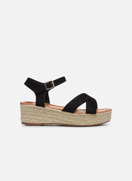 Espadrilles I Love Shoes CAROISA Zwart achterkant