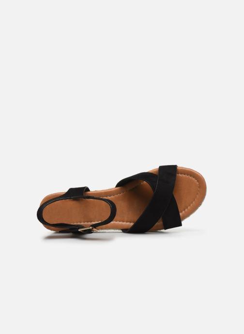 Espadrilles I Love Shoes CAROISA Noir vue gauche