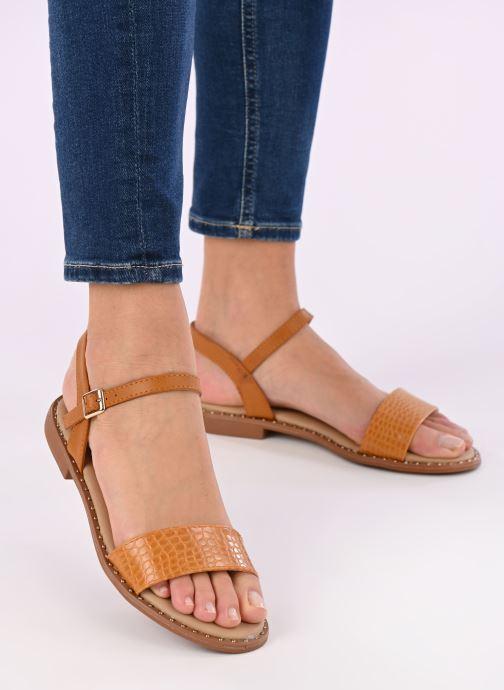 Sandali e scarpe aperte I Love Shoes CAUZY Giallo immagine dal basso