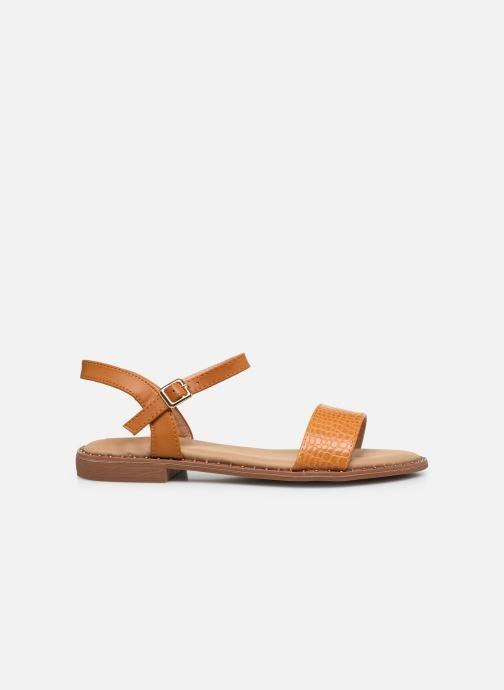 Sandali e scarpe aperte I Love Shoes CAUZY Giallo immagine posteriore