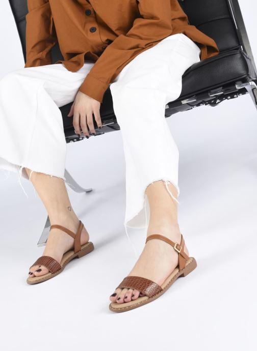 Sandali e scarpe aperte I Love Shoes CAUZY Marrone immagine dal basso