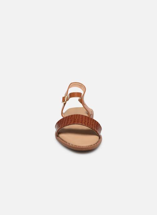 Sandali e scarpe aperte I Love Shoes CAUZY Marrone modello indossato