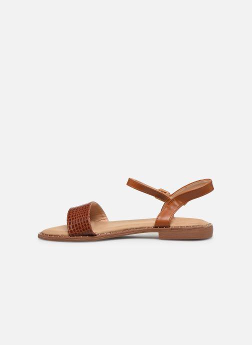 Sandalias I Love Shoes CAUZY Marrón vista de frente
