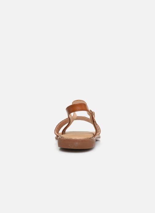 Sandalias I Love Shoes CAUZY Marrón vista lateral derecha