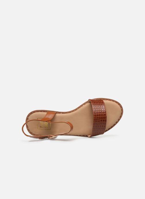 Sandali e scarpe aperte I Love Shoes CAUZY Marrone immagine sinistra
