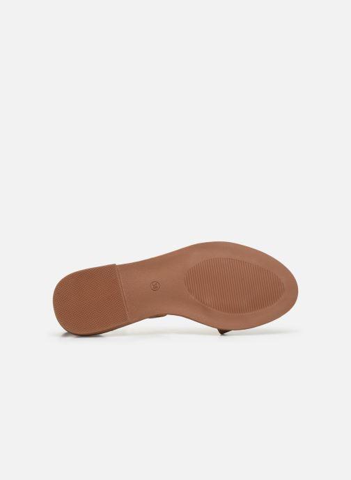 Sandalias I Love Shoes CAUZY Marrón vista de arriba