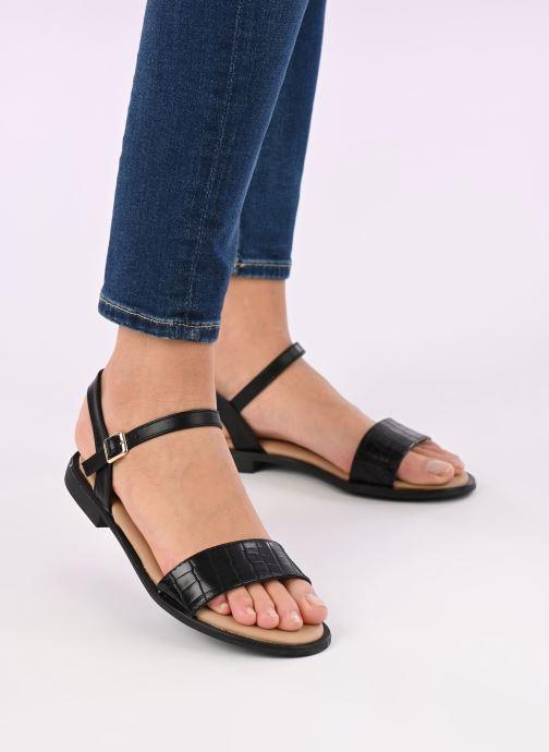 Sandalias I Love Shoes CAUZY Negro vista de abajo