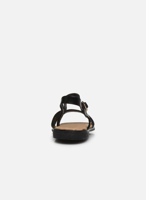 Sandalias I Love Shoes CAUZY Negro vista lateral derecha