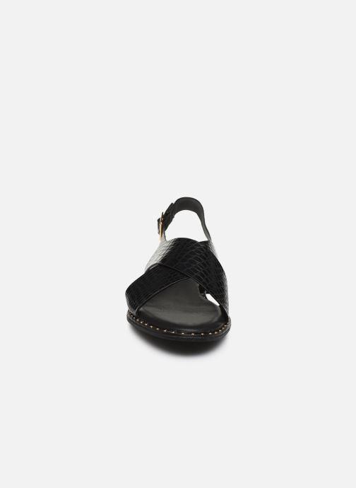 Sandalias I Love Shoes CAPITA Negro vista del modelo