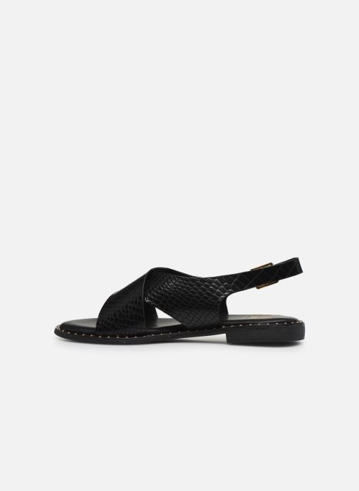 Sandalias I Love Shoes CAPITA Negro vista de frente
