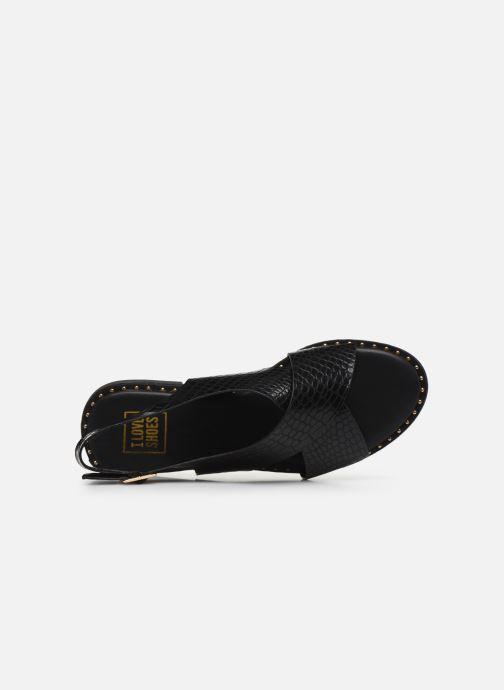 Sandalias I Love Shoes CAPITA Negro vista lateral izquierda