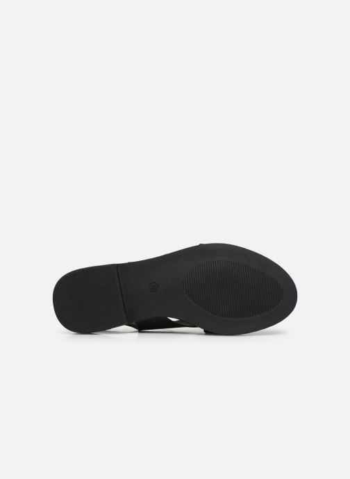 Sandalias I Love Shoes CAPITA Negro vista de arriba