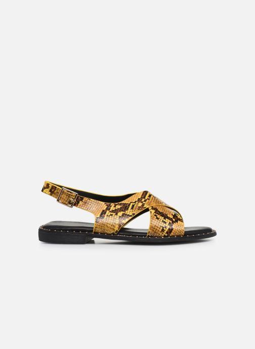 Sandalias I Love Shoes CAPITA Amarillo vistra trasera