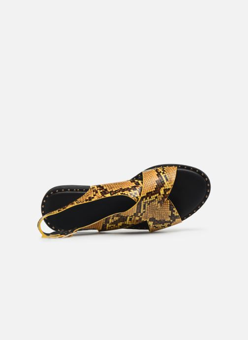 Sandalias I Love Shoes CAPITA Amarillo vista lateral izquierda