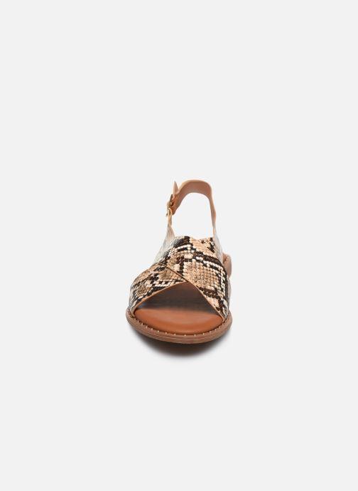 Sandales et nu-pieds I Love Shoes CAPITA Marron vue portées chaussures