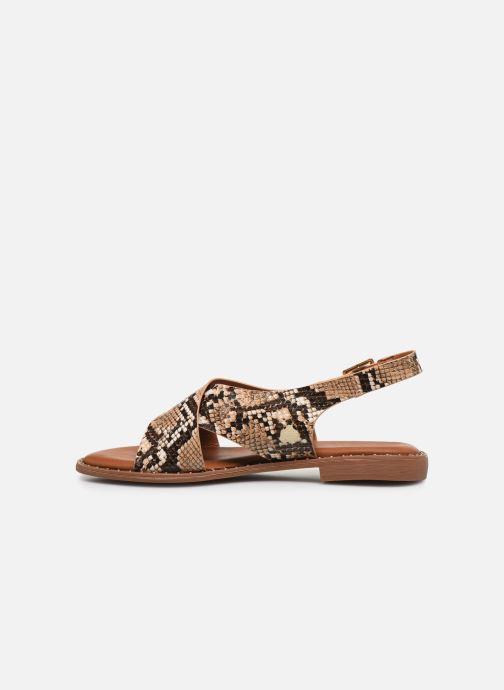 Sandales et nu-pieds I Love Shoes CAPITA Marron vue face