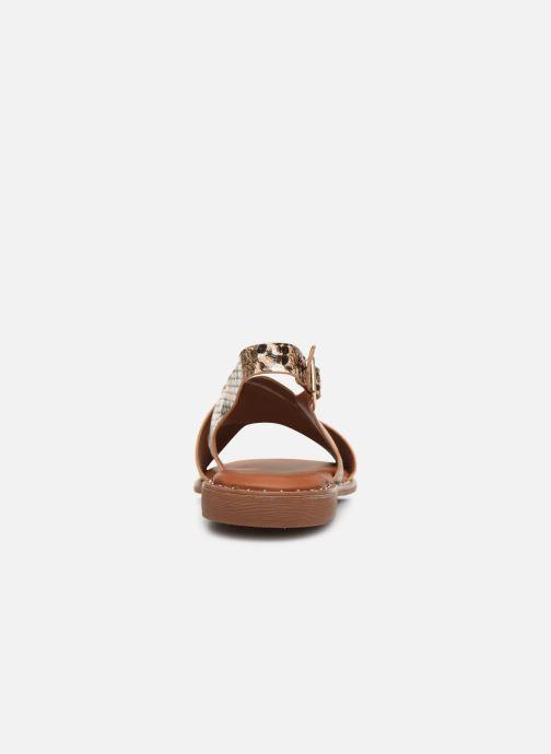Sandales et nu-pieds I Love Shoes CAPITA Marron vue droite