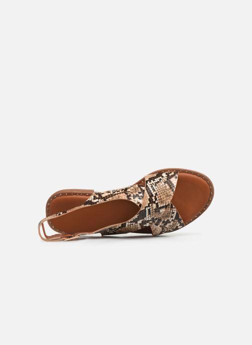 Sandales et nu-pieds I Love Shoes CAPITA Marron vue gauche