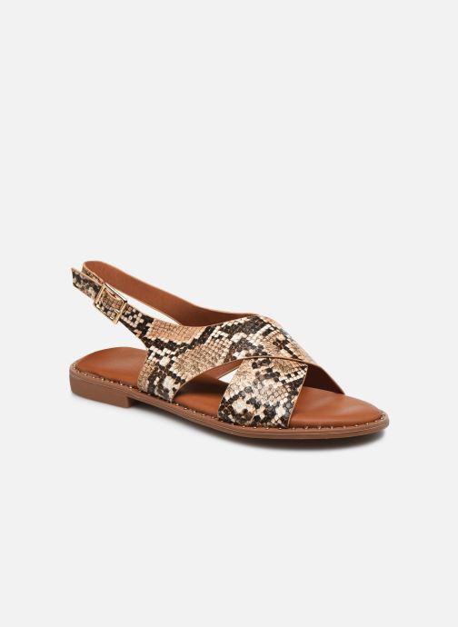 Sandales et nu-pieds I Love Shoes CAPITA Marron vue détail/paire