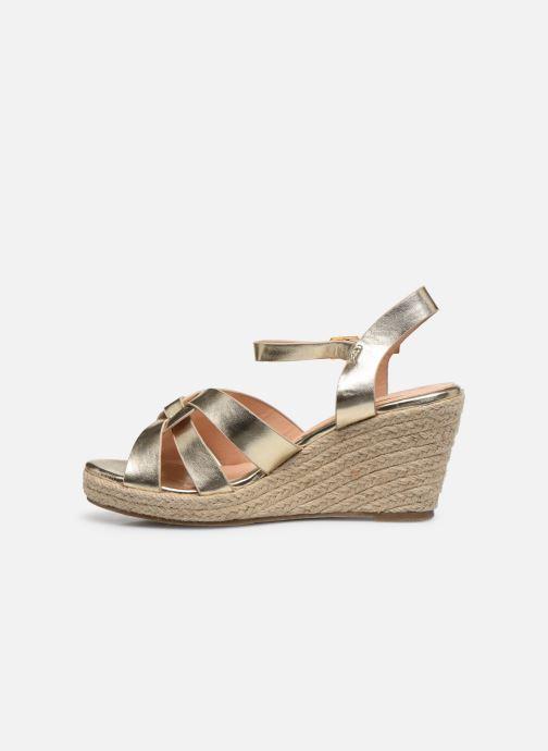 Espadrilles I Love Shoes CAMONE gold/bronze ansicht von vorne
